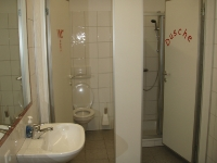 Pfadfinderheim - Dusche, WCs