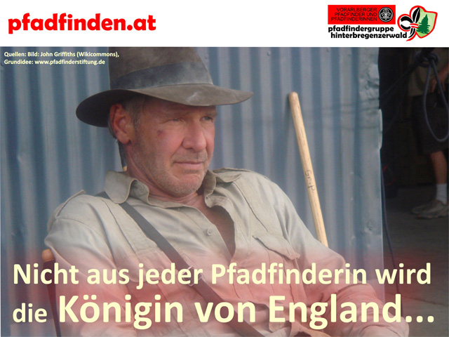 Indiana Jones war Pfadfinder